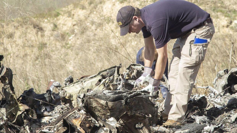 Vragdele fra helikopterstyrtet.