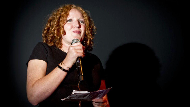 Enhedslistens valgfest i Pumpehuset. Rosa Lund. (Foto: Malte Kristiansen/Scanpix 2011)