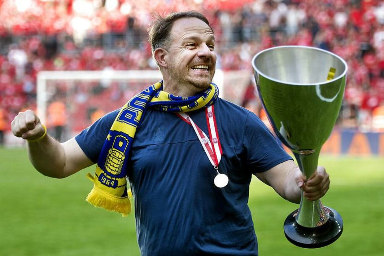 Brøndby slog Silkeborg med 3-1 i pokalfinalen i 2018 og tog første trofæ siden 2008. Allerede i næste uge kan den næste titel komme, hvis holdet vinder Superligaen.