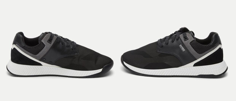 BOSS Athleisure - Titanium_Run Sneaker fra Hugo Boss