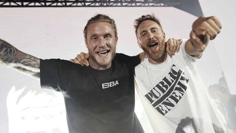 Morten Breum og David Guetta.