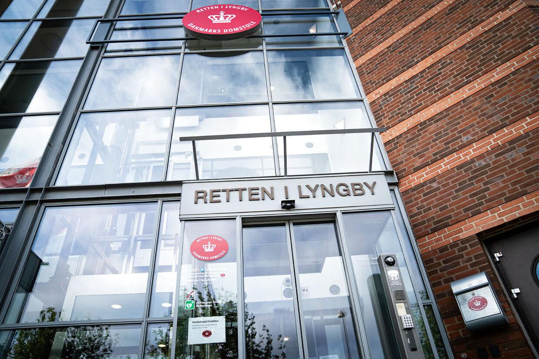 Retten i Lyngby mandag den 14. oktober 2019.