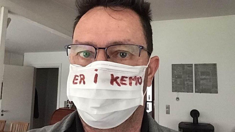Jan Lindstrøm er en blandt mange danskere, som er syge af kræft og dermed udsatte for coronavirus.