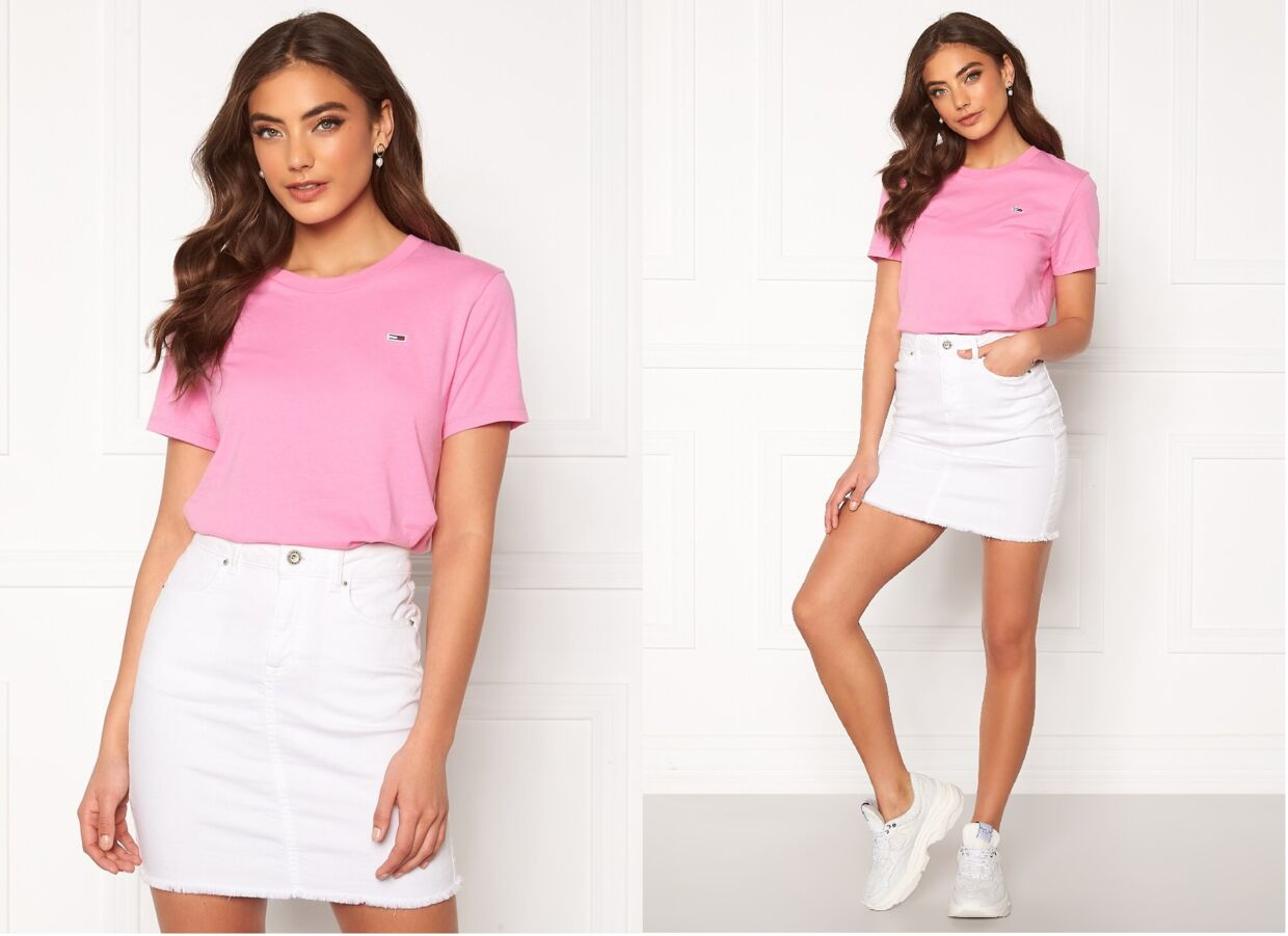 Tommy Classics Tee TOU Pink Daisy