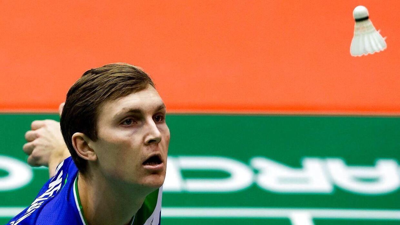 Viktor Axelsen er i semifinalen ved det igangværende All England.