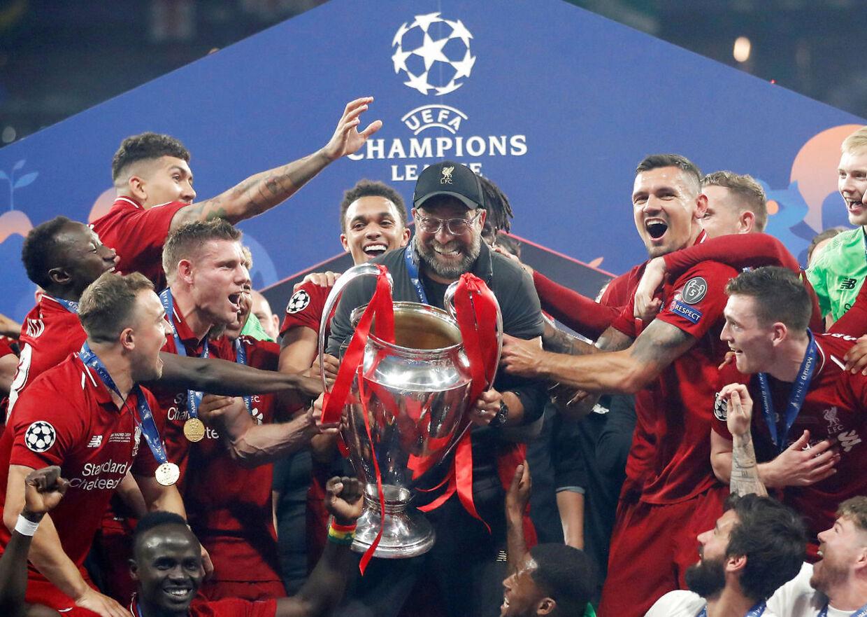 Liverpool hæver Champions League-trofæet i 2019. Spørgsmålet er, hvornår det hæves i år.