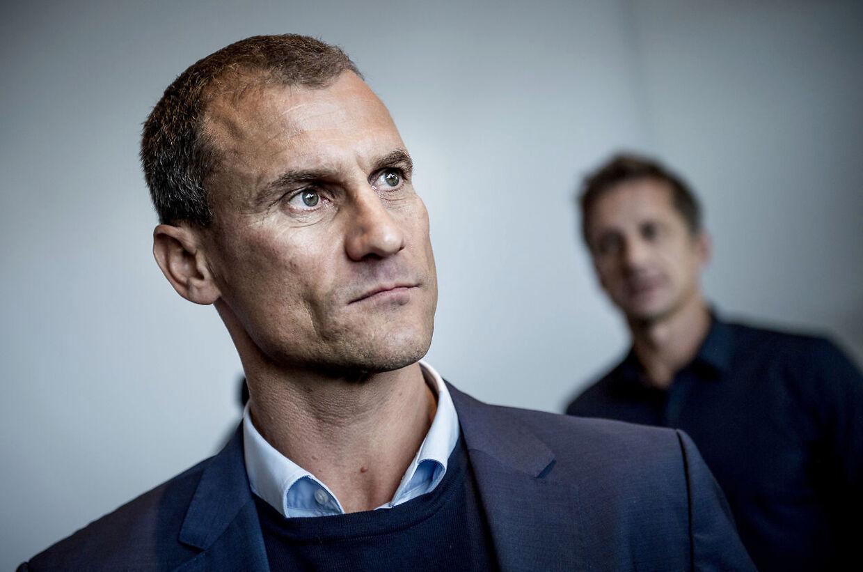 Ebbe Sand, billedet, blev i januar ansat som assisterende landstræner i DBU.