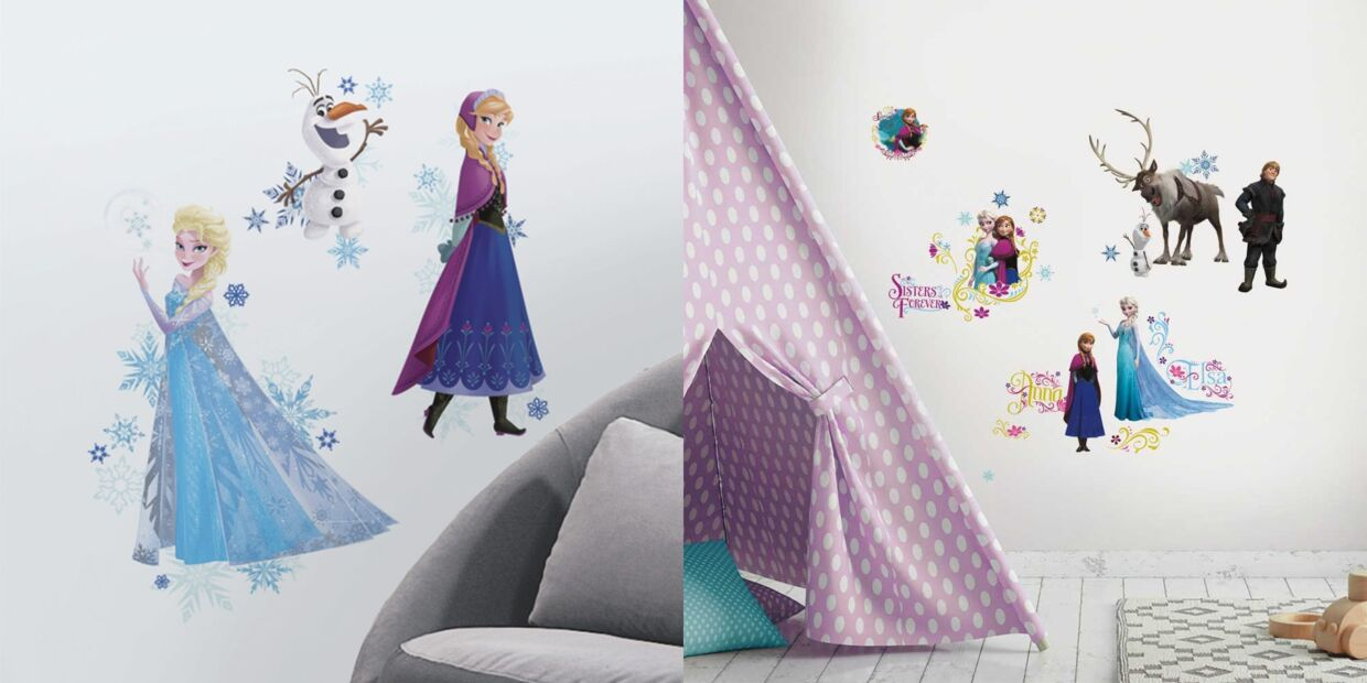 Frozen wallstickers