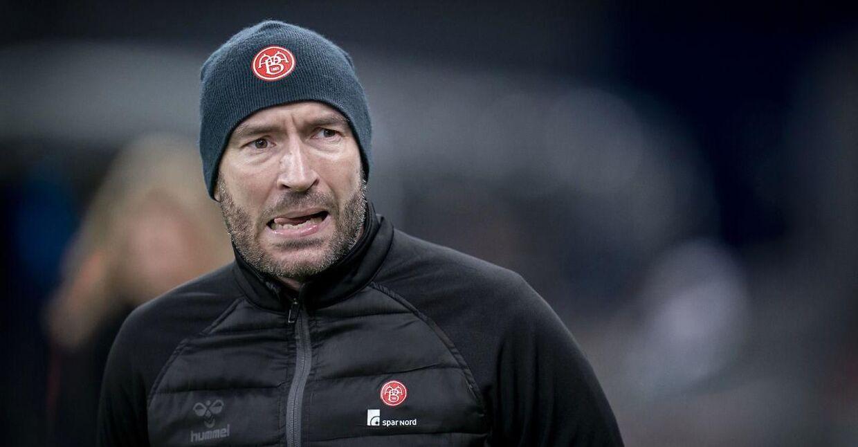 Jacob Friis, cheftræner i Superliga-klubben AaB.