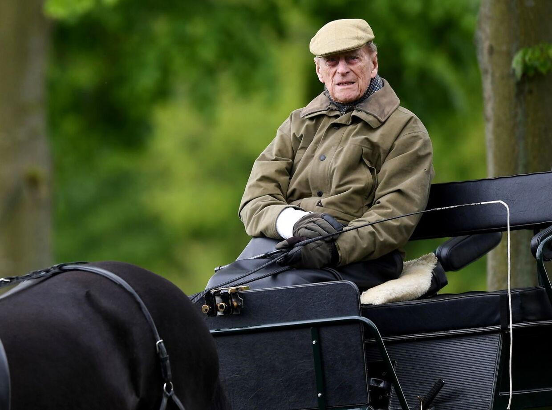 Efter at han trak sig fra de officielle pligter, valgte prins Philip at tilbringe størstedelen af sin tid på Sandringham.