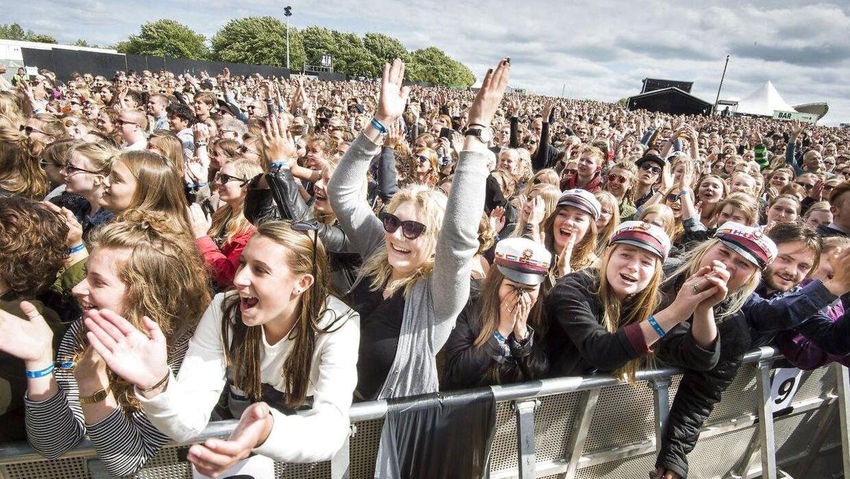 Arkivfoto. Gæster under en koncert på Northside Festival.