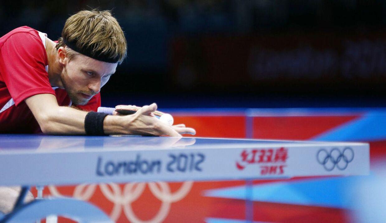 Michael Maze i aktion ved OL 2012 i Tokyo.