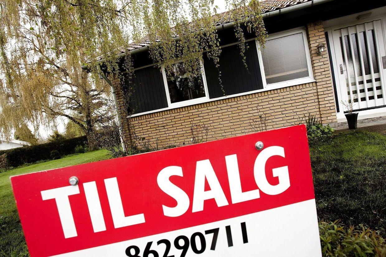 De stigende renter har gjort det markant dyrere at købe hus.