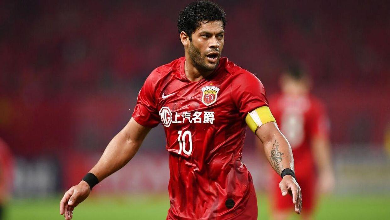 Hulk på fodboldbanen for sin kinesiske klub.