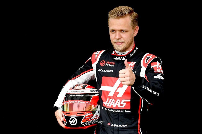 Kevin Magnussen nåede aldrig at komme i raceren i forbindelse med årets første løbsweekend, inden aflysningen ramte.
