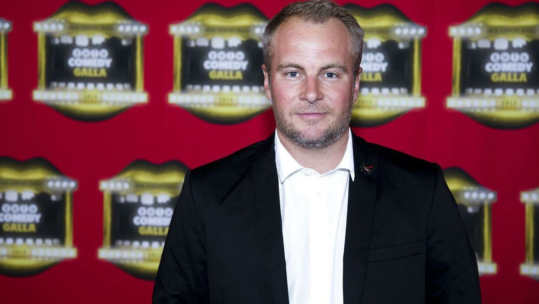 Uffe Holm til Zulu Comedy Galla i 2014.