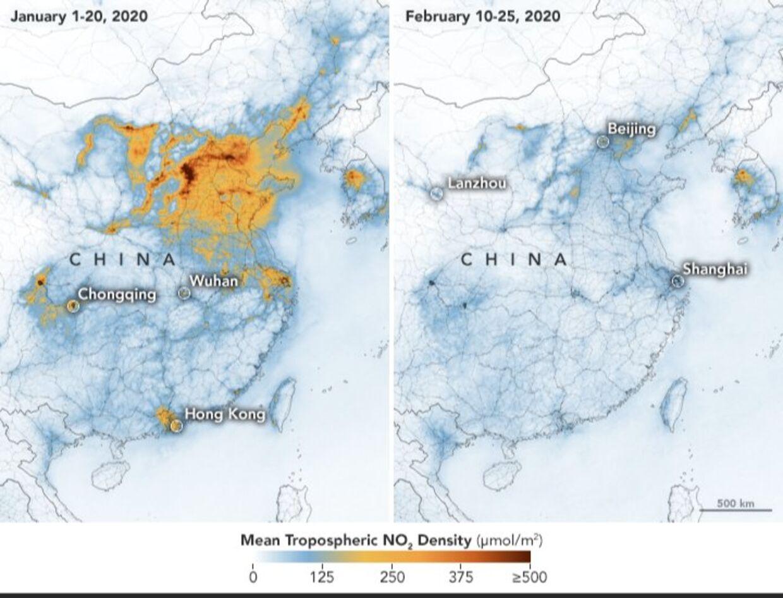 Luftforerening i Kina