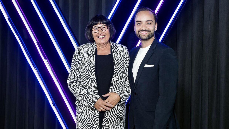 Rosa Kildahl og hendes daværende 'Vild med dans'-makker Esbern Syhler-Hansen