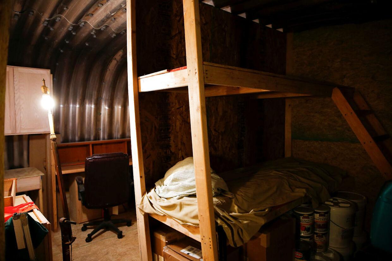 Sådan så overlevelsesbunkerne ud i 'gamle dage'. 'Fortitude Ranch' i den sydlige del af staten Colorado.