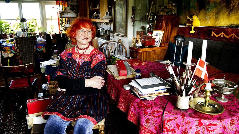 Jytte Abildstrøm har rigeligt at give sig til: Blandt andet planlægger hun at skrive en børnebog om livets dyder.