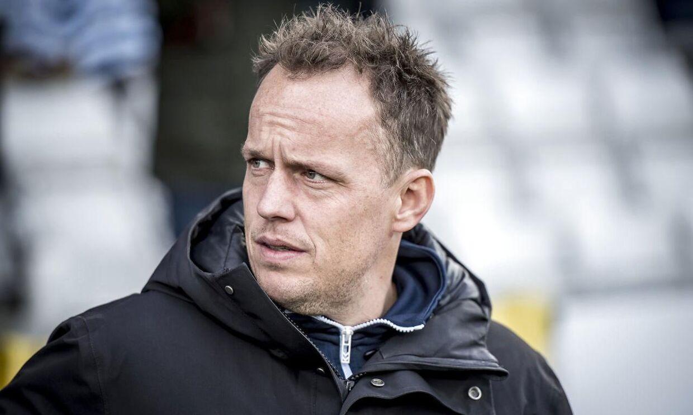 OB's cheftræner Jakob Michelsen.