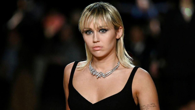 Arkivfoto af Miley Cyrus.