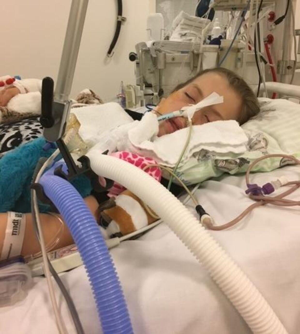 Malou på 12 år lider af svær astma, og hun er derfor dybt afhængig af sin medicin, men den har familien næsten ikke mere af tilbage.