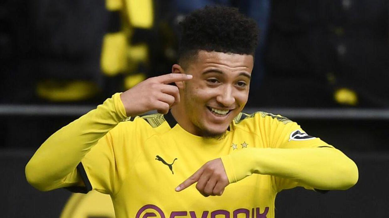 Jadon Sancho har storspillet for Borussia Dortmund.