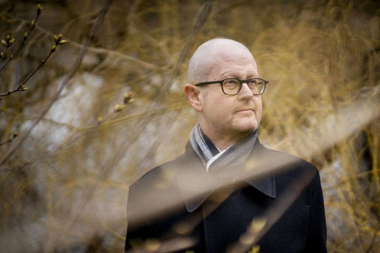 Mads Lundby Hansen, cheføkonom og vicedirektør i tænketanken CEPOS. Fotograferet i anledningen af, at han er nomineret til Berlingskes Fonsmarkpris.