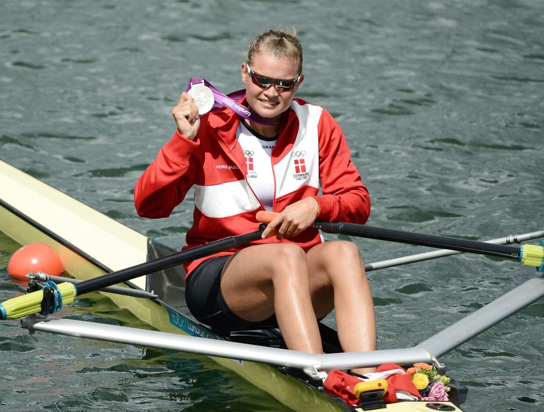Fie Udby vandt sølv ved OL 2012 i London.