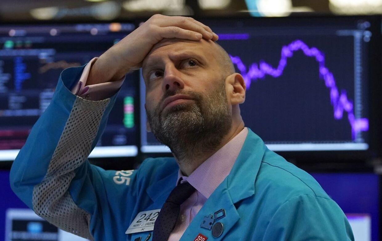 Børserne på Wall Street og resten af verden gik i blodrødt, da corona-krisen ramte.