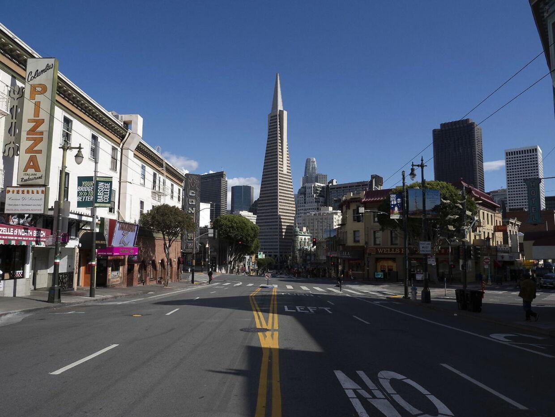 På grund af sit milde klima og smukke beliggenhed er San Francisco altid proppet med turister - under normale forhold.