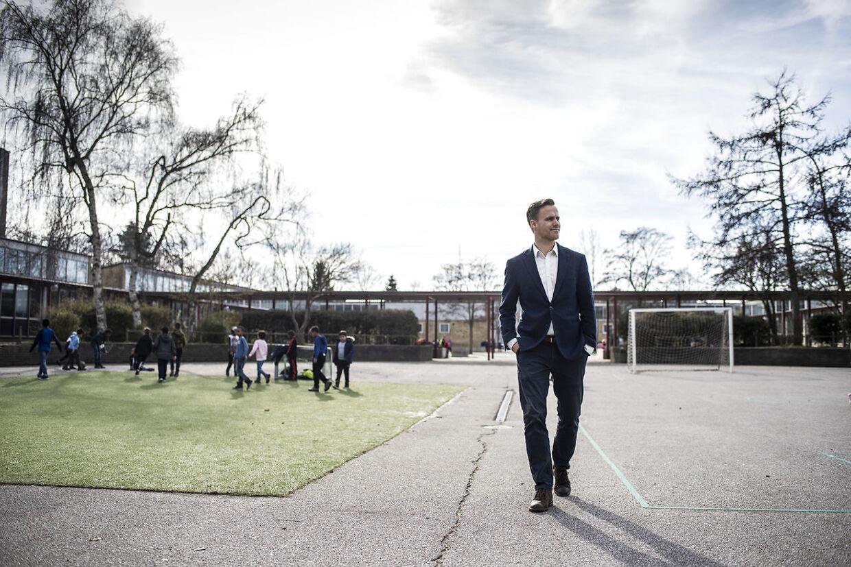 Marco Damgaard, skoleleder på Tingbjerg Skole.