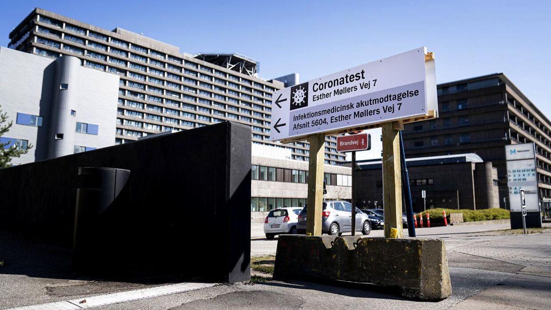 Rigshospitalet i København.