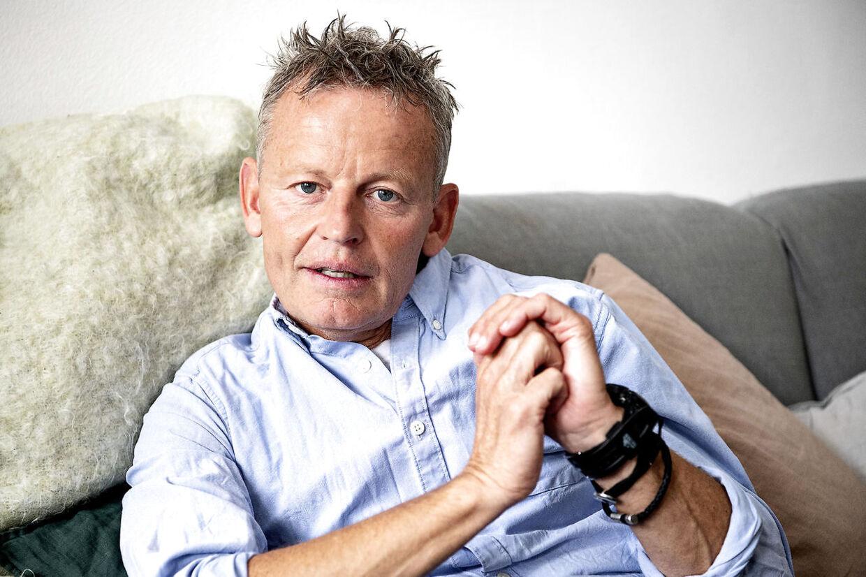 Tv-værten Bubber med det borgerlige navn Niels Christian Meyer.