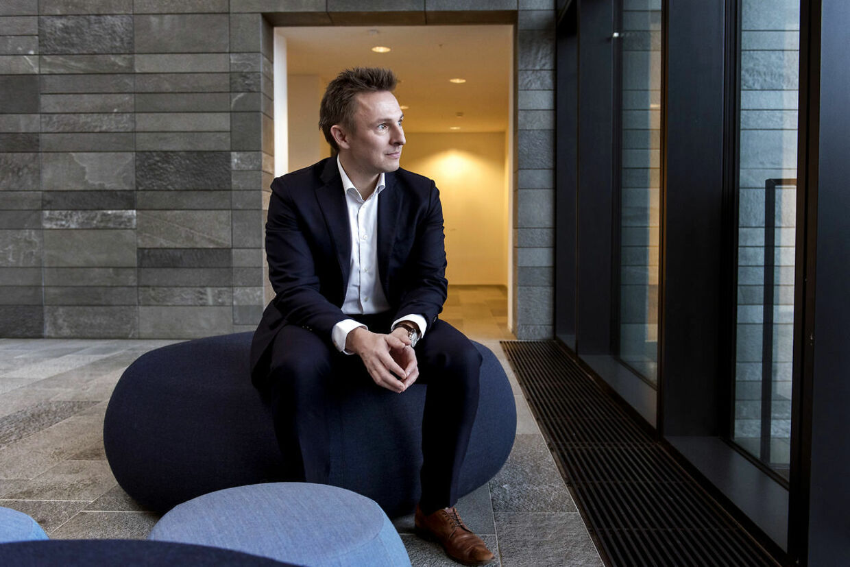 Nordea-chef Mads Skovlund har det overordnede ansvar for Nordeas privatkunder i Danmark.
