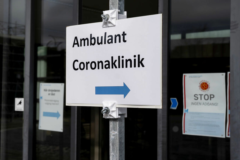 Lisbeth Ramsing har kun ros tilovers for Kolding Sygehus' behandling af hendes mand, efter han blev indlagt med coronavirus. På billedet ses den nyåbnede coronaklinik på Hvidovre Hospital.