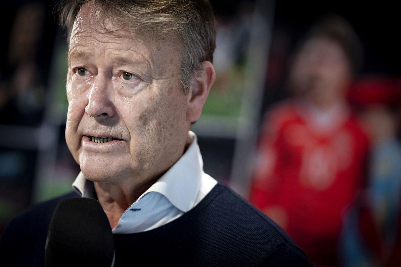 Åge Hareide fik fire år i spidsen for det danske landshold.