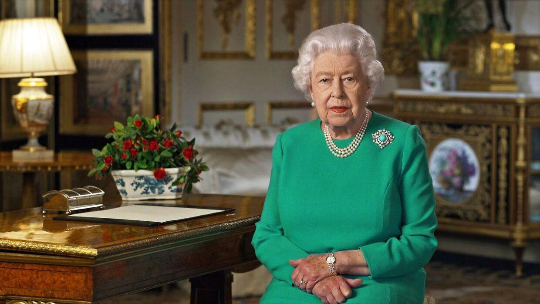 Dronningen holdte søndag en historisk tale, som blev optaget i Windsor Castle, hvor dronningen til daglig bor med den 98-årige prins Philip.