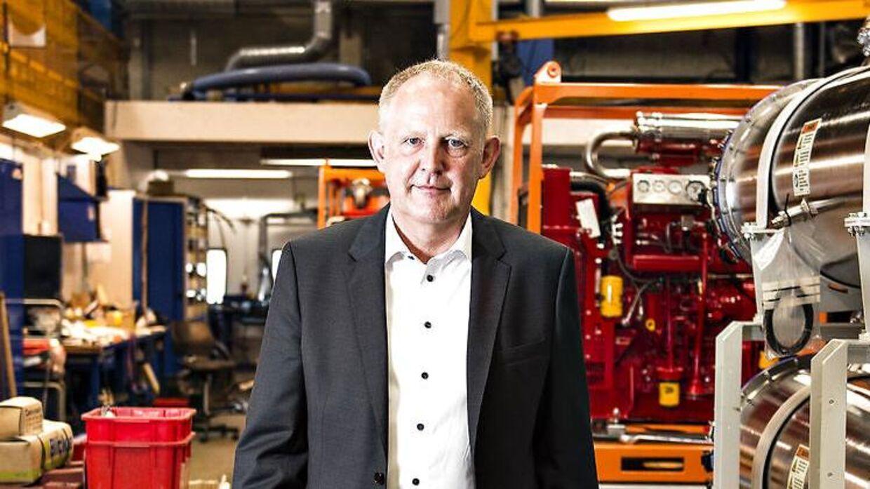Direktør Henrik Sørensen, Desmi, Nørresundby.
