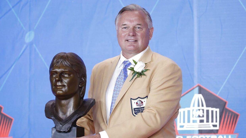 Morten Andersen blev optaget i NFL's Hall of Fame i 2017.