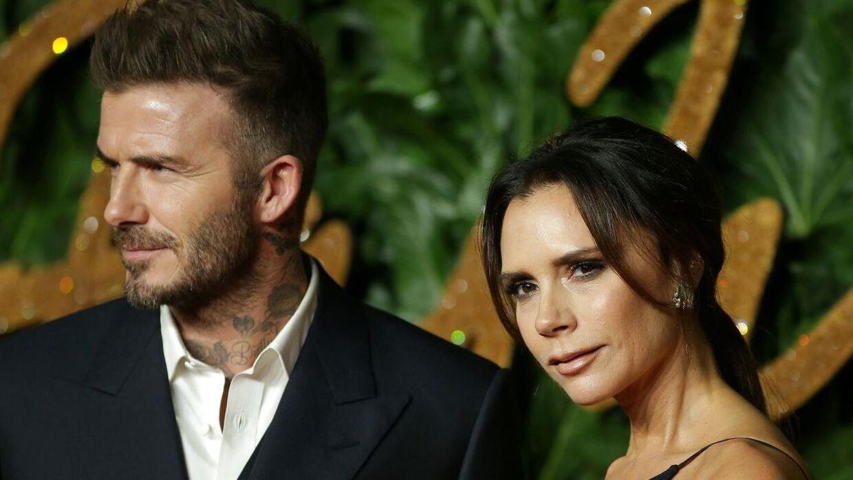 David og Victoria Beckham blev gift i 1999.