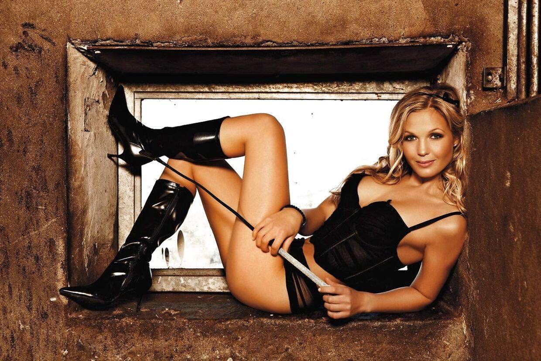 Tina Lund smed ridetøjet og sprang ud som model i M!