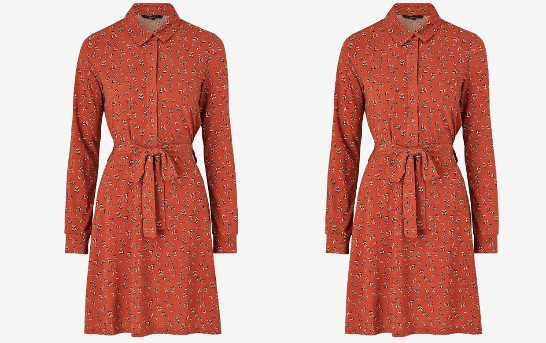 Vero Moda Short Shirt Dress fra Ellos.dk
