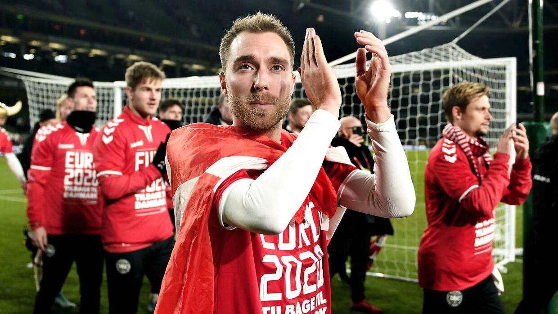 En aftale er faldet på plads - og dermed kan danskerne opleve Christian Eriksen og co. på hjemmebane til EM næste år.