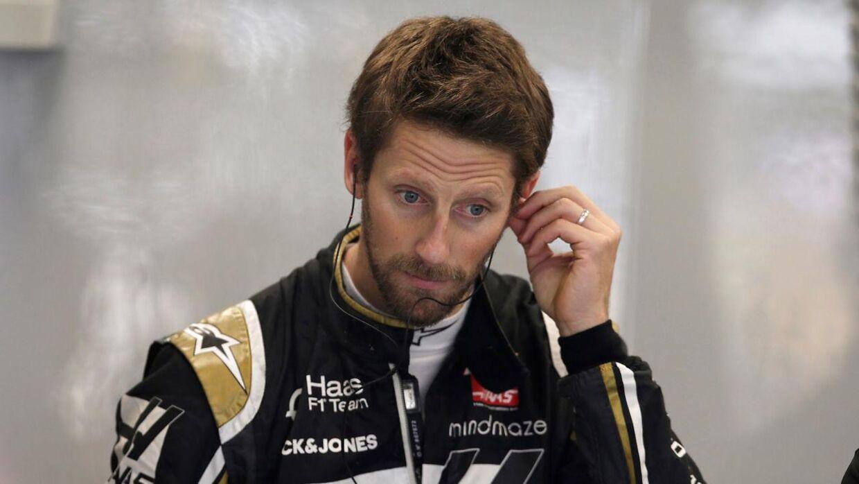Det har ikke altid været nemt at være Romain Grosjean på de sociale medier. (REUTERS/Amanda Perobelli)