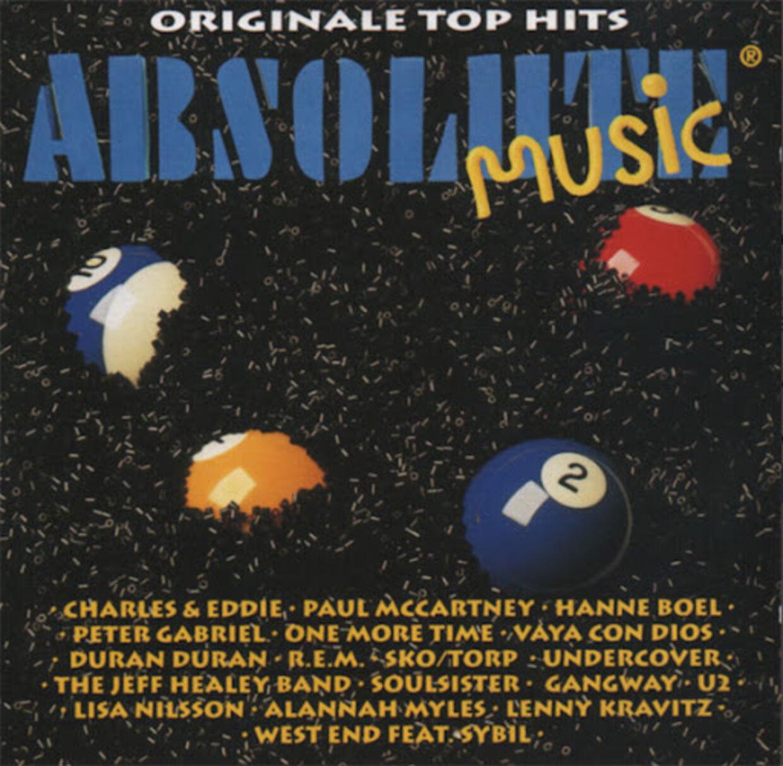 Mogens Hansen har tilfældigvis Joy Mogensens favoritalbum 'Absolute Music 2' hængende i ramme derhjemme. »Det er et grimt cover. Det var først senere, at vi fandt den rette stil.«