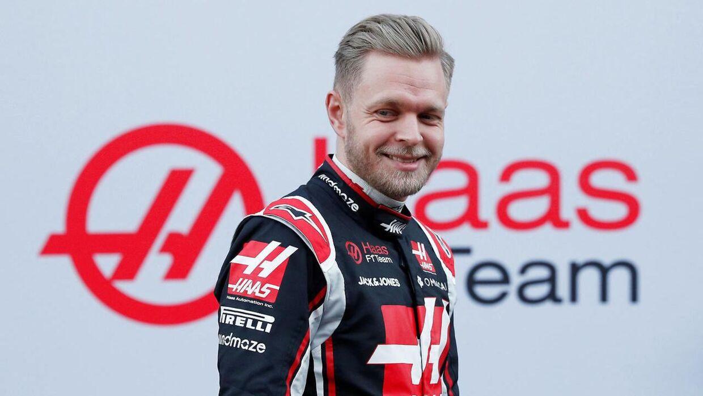 Kevin Magnussen ser ud til at sidde rimelig sikkert i sædet hos Haas. (REUTERS/Albert Gea)