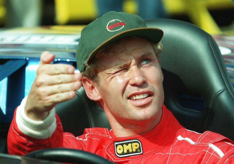 Racerkører Tom Kristensen, formel 3000, team Edenbridge, tidligere Shannon-team., England