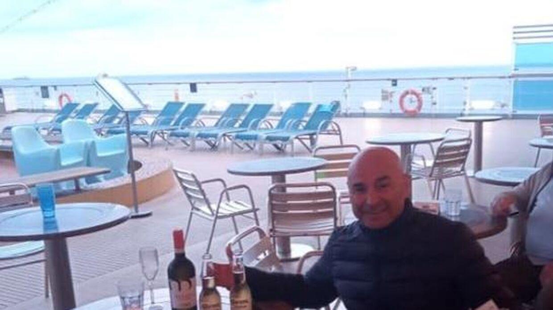 Fernando Oberreuter fotograferet ombord på Costa Luminosa. (Privatfoto)